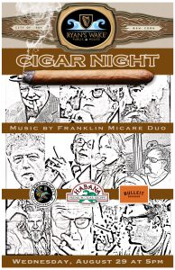 Ryan's Wake Cigar Night! @ Ryan's Wake