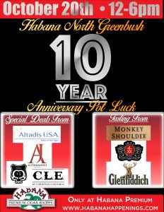 N.G. 10th Year Anniversary Pot Luck! @ Habana North Greenbush