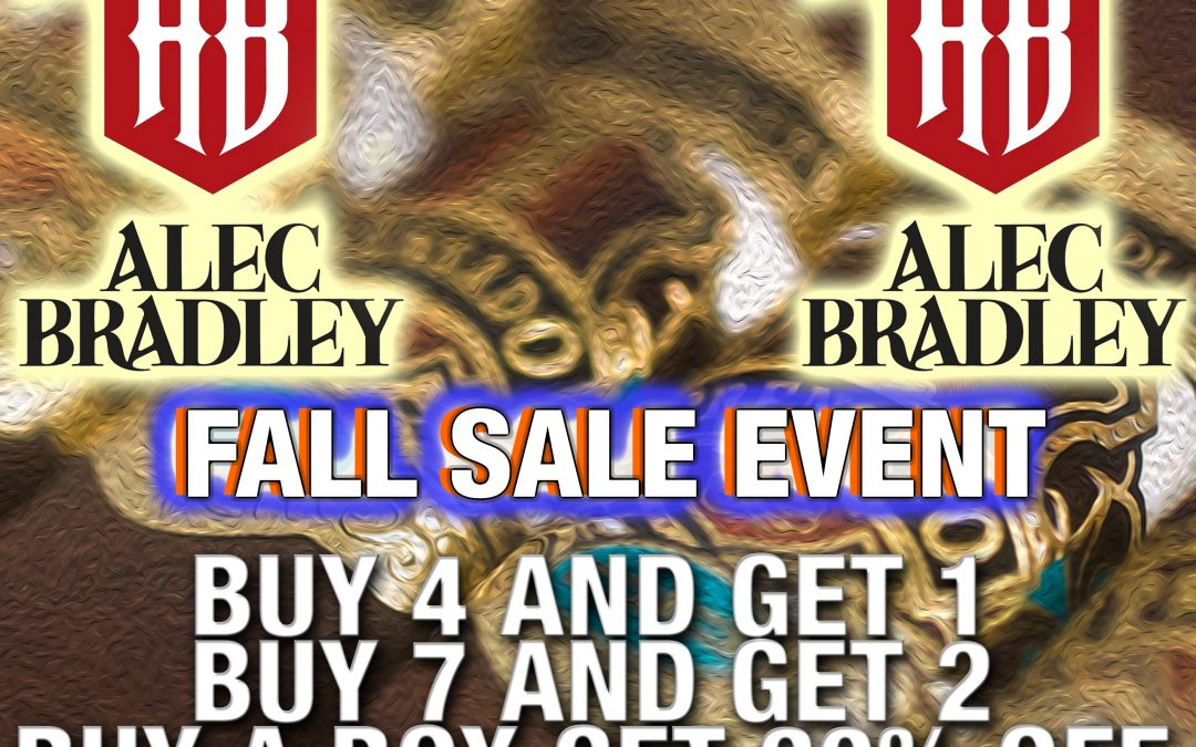 Alec Bradley Sale Event!