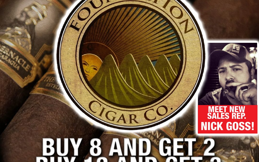 Foundation Cigar Sale Event!