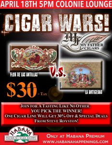 Cigar Wars Featuring My Father Cigars!