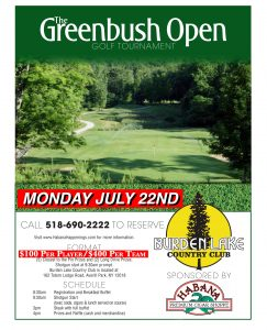 North Greenbush Open! @ BLCC
