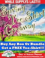Tee Shirt Giveaway Event